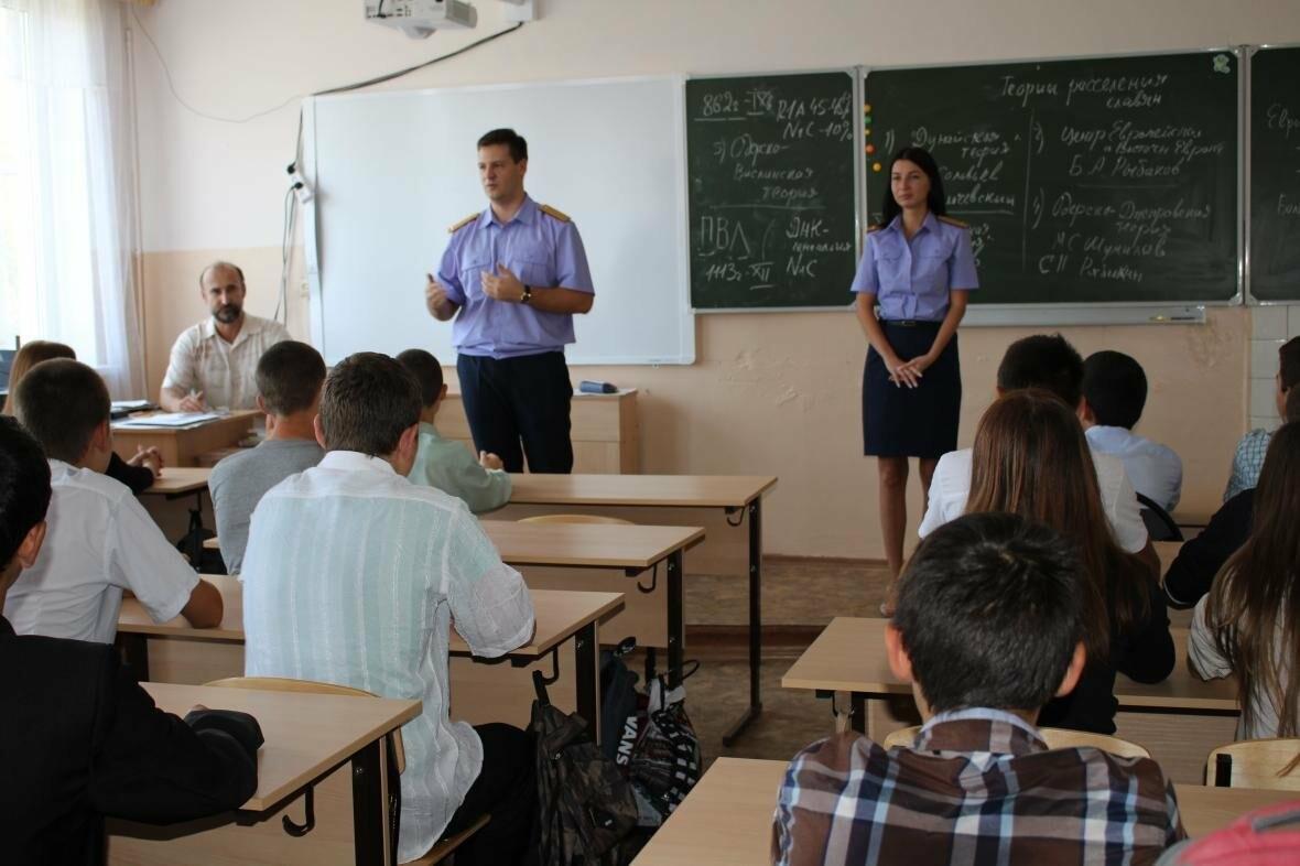 В Севастополе сотрудники управления проводят профилактические уроки в образовательных учреждениях города, фото-1