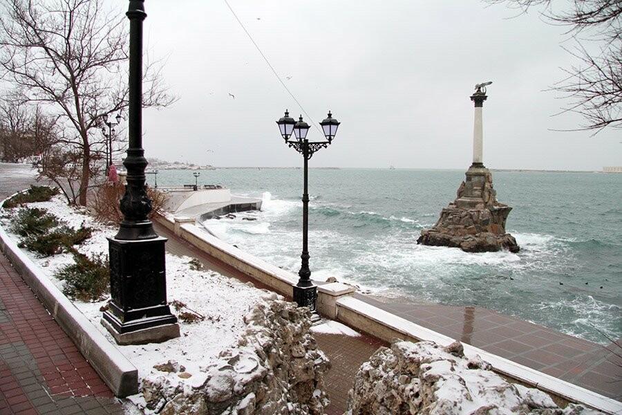 На этих выходных в Севастополь может нагрянуть первый снег