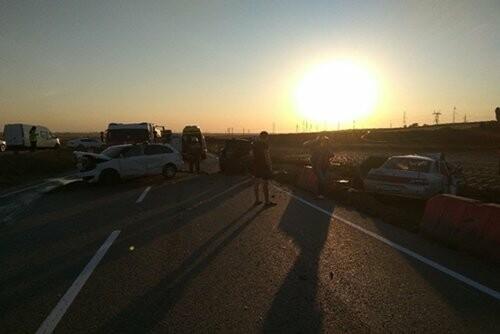 В Крыму в тройном ДТП погиб человек (ФОТО), фото-1