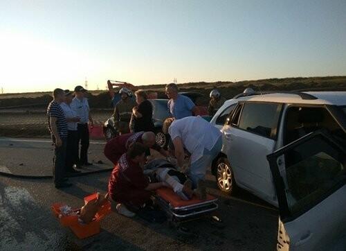 В Крыму в тройном ДТП погиб человек (ФОТО), фото-2