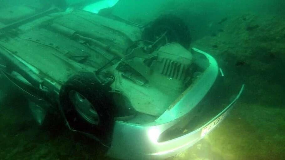 В Севастополе с обрыва сорвался автомобиль (ФОТО), фото-2