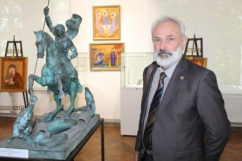 Открытие выставки Зураба Церетели в Херсонесе [ФОТО]