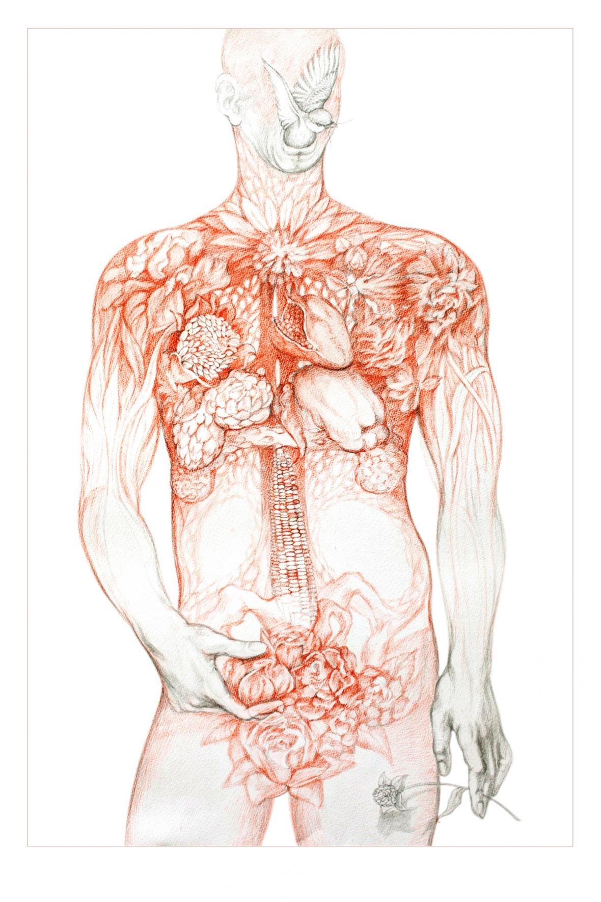 В Ялте презентуют  арт-проект Виктории Меренковой «Ботаника. Внутри меня», фото-3
