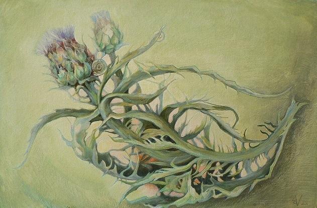 В Ялте презентуют  арт-проект Виктории Меренковой «Ботаника. Внутри меня», фото-1