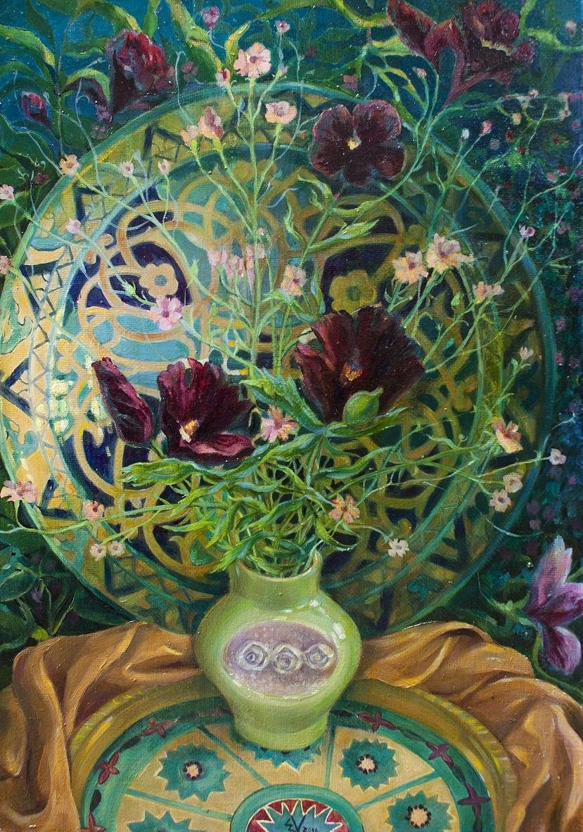 В Ялте презентуют  арт-проект Виктории Меренковой «Ботаника. Внутри меня», фото-4