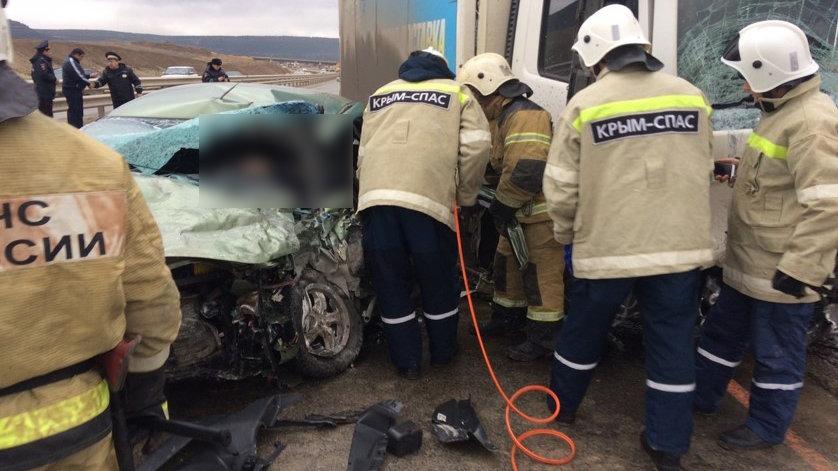 3 человека погибли в утреннем ДТП на трассе Симферополь-Севастополь, - ВИДЕО, ФОТО, фото-2